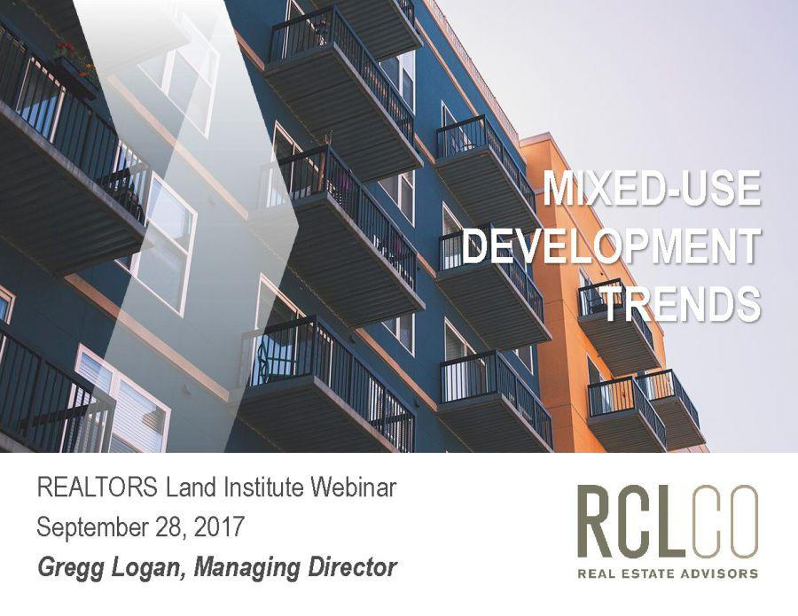 Realtors Land Institute Presentation
