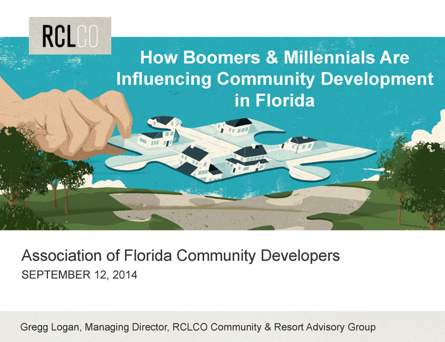 How Boomers & Milennials are Influencing Development in FL
