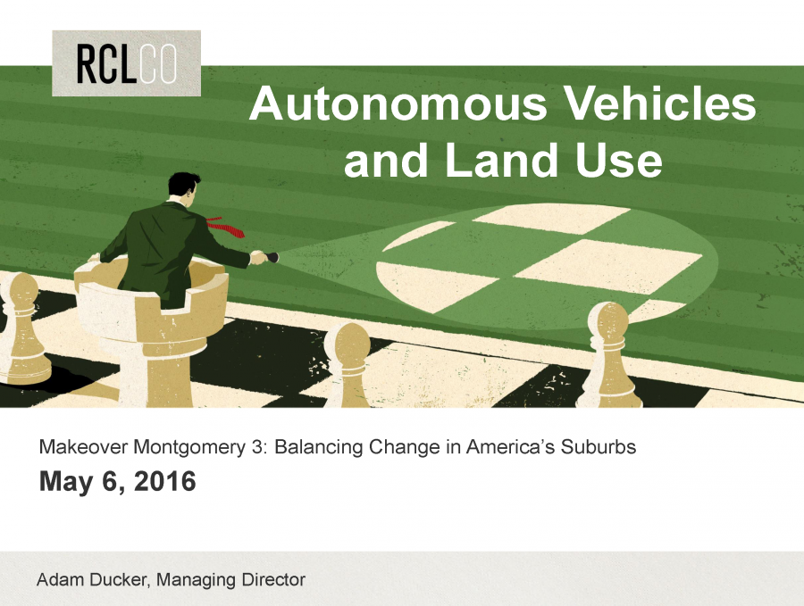 Autonomous Vehicles and Land Use
